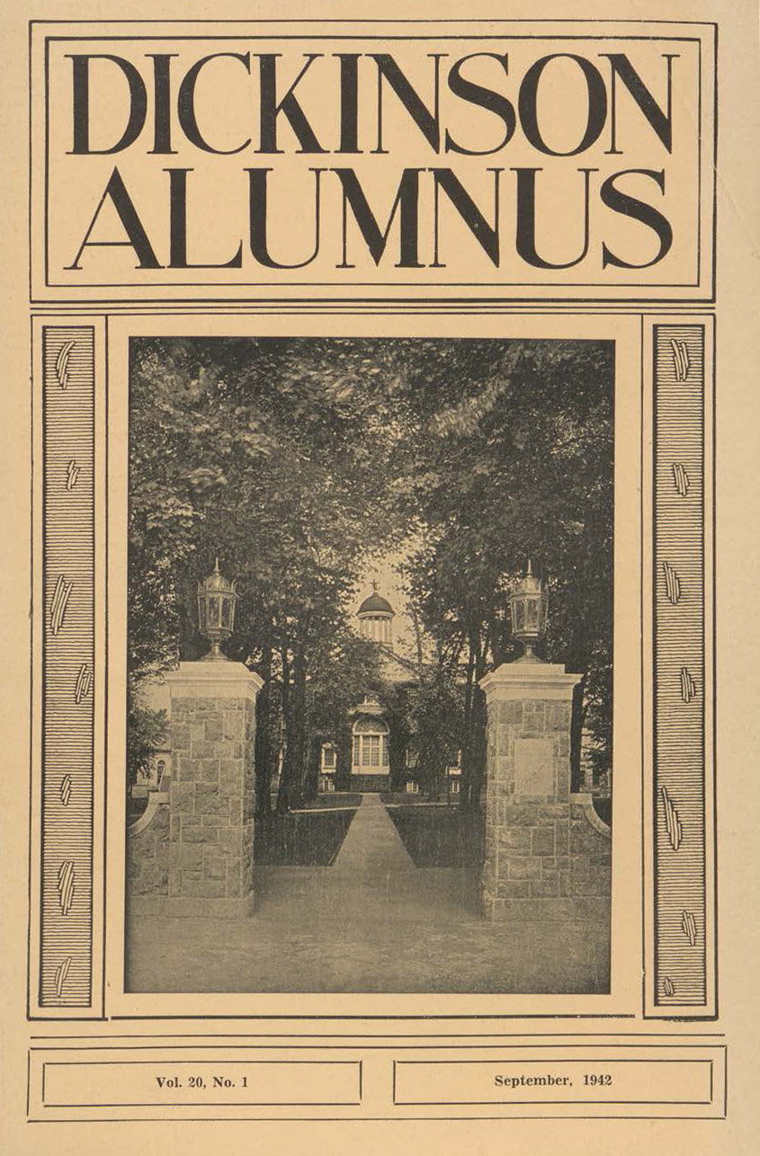 Dickinson Alumnus Cover