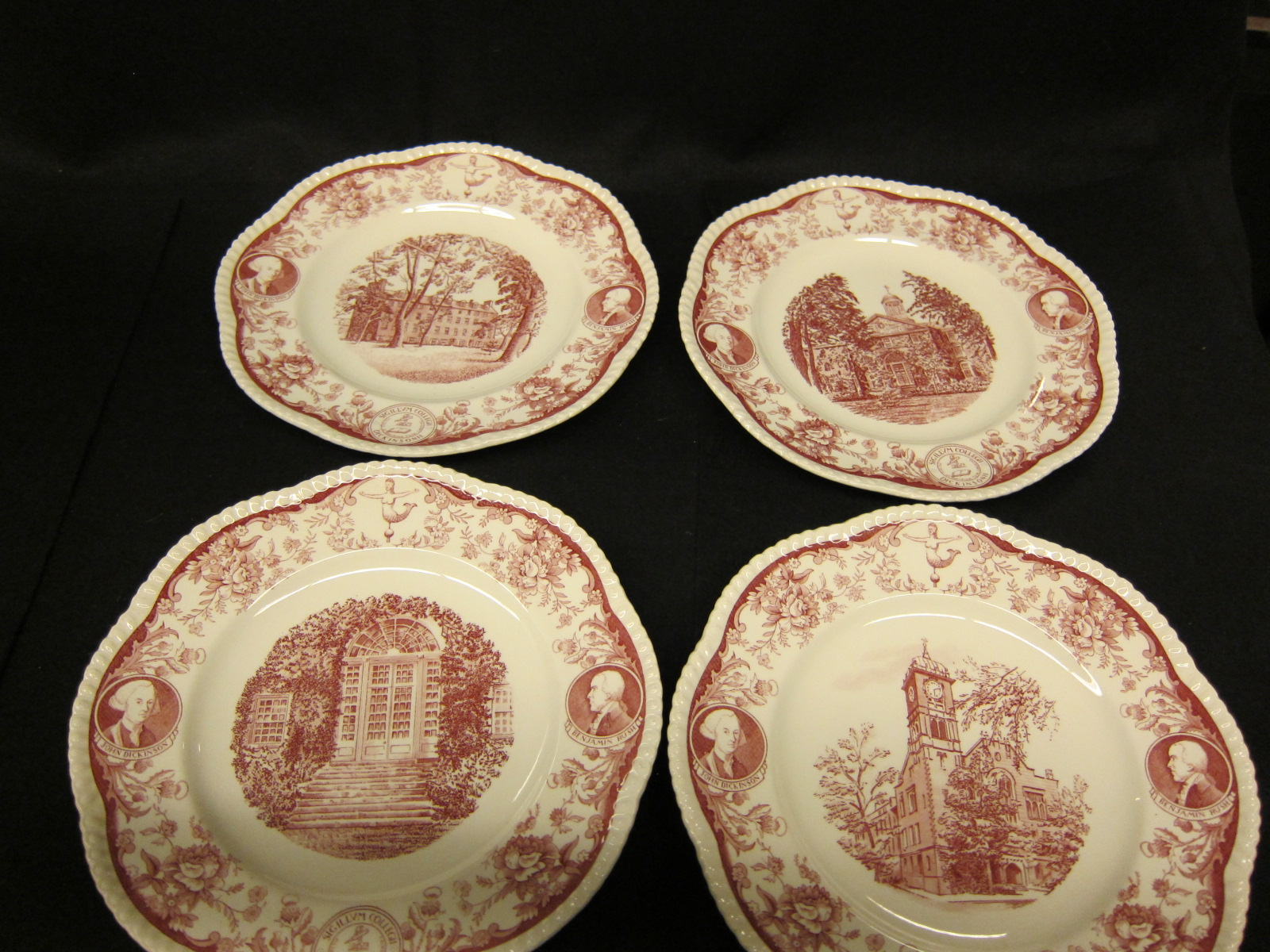180th Anniversary Commemorative Plates 1953 & 180th Anniversary Commemorative Plates 1953 | Dickinson College