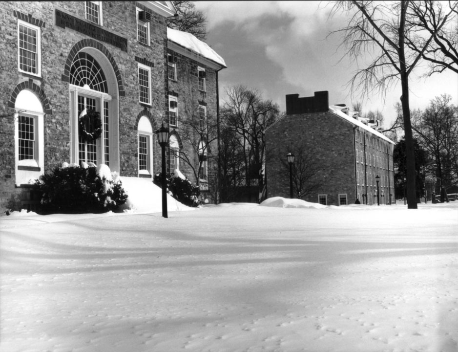 Old West and East College, 1996