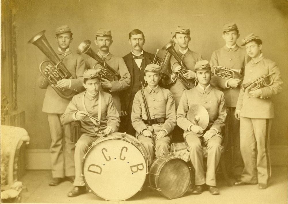 Cadet Band, 1881