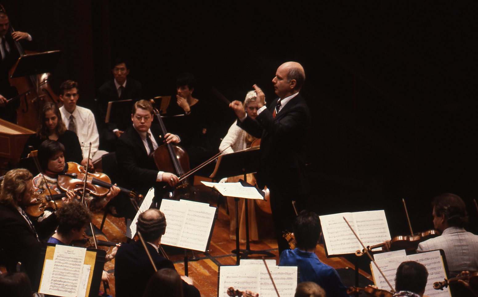 Orchestra and Choir concert, 1993