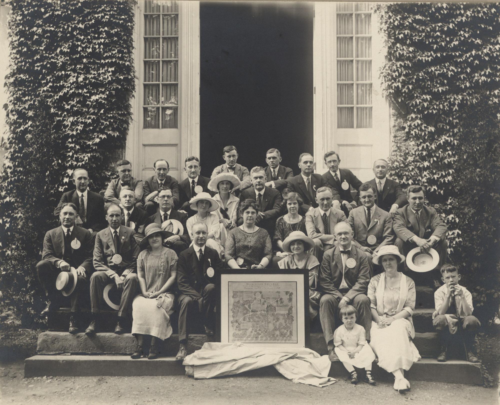 Class of 1903 reunion, 1923