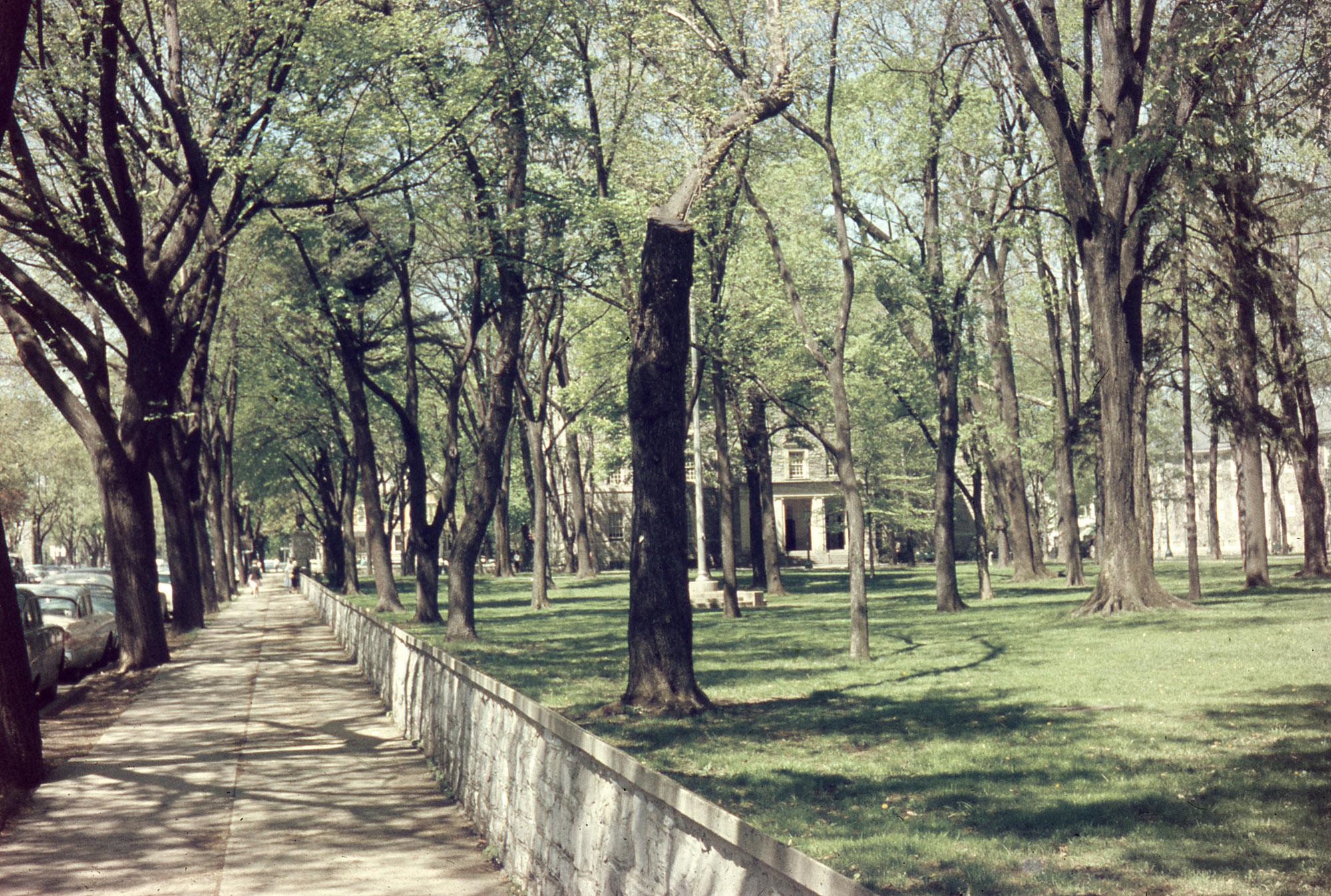 View of John Dickinson Campus, 1959