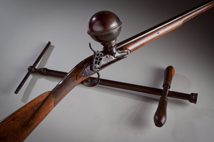 Air gun once owned by Joseph Priestley (Image courtesy of Dickinson College/Carl Sander Socolow)
