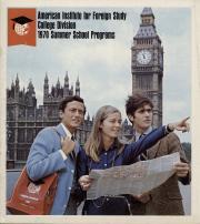 AIFS College Division Summer School Programs (1970)