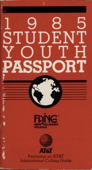 1985 Student Youth Passport