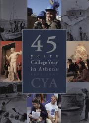 College Year in Athens: The First 45 Years