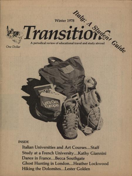 Transitions: A Periodical Review of Educational Travel and Study Abroad (Winter 1978)