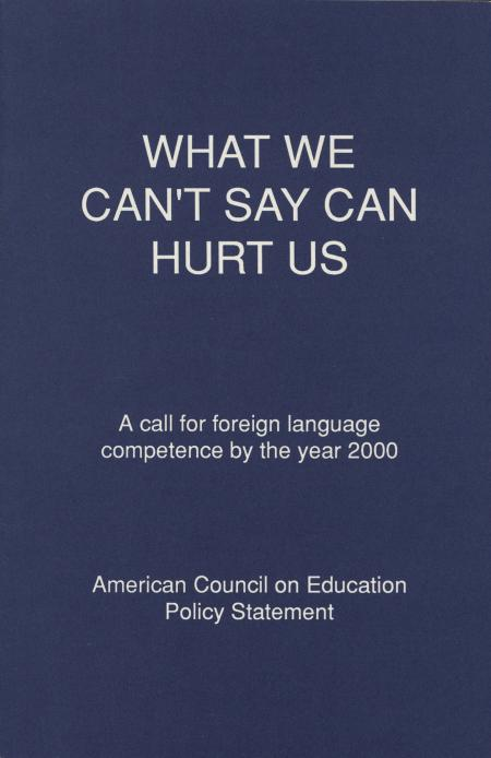 """What We Can't Say Can Hurt Us"""