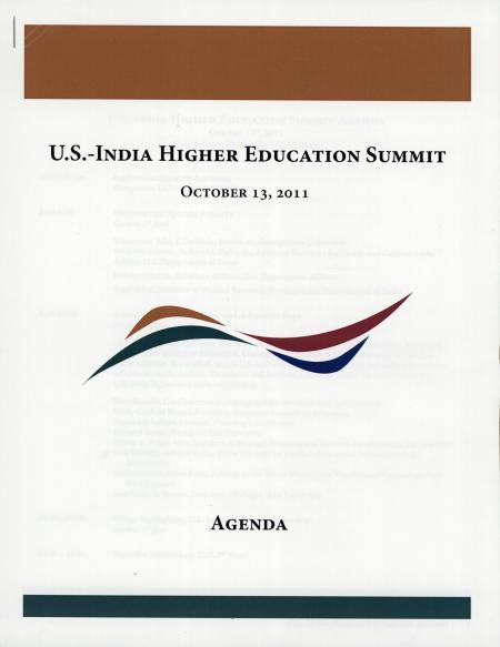 U.S. - India Higher Education Summit
