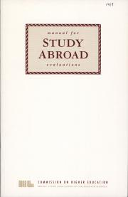 Manual for Study Abroad Evaluations