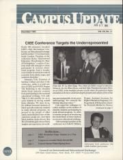 Campus Update Newsletter December 1990