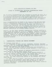 Proposed Amendment to the Higher Education Act of 1965 (Draft)