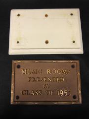 Dickinson College Plaque, 1953