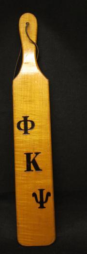 Phi Kappa Psi Paddle, front
