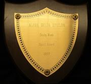 Alpha Delta Epsilon Derby Week Plaque, 1977