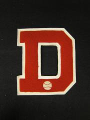 """""""D"""" Felt Letter, 1963"""