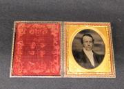 Ambrotype of President Charles Collins, c.1860