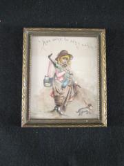 Painting of a Young Girl, c.1890