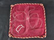 Pillow Case with Braided Trim, c.1905