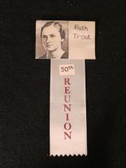 Dickinson Reunion Nametags (2), c.1986
