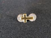 Gold Cross Pin