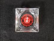 Glass Ashtray with the College Seal