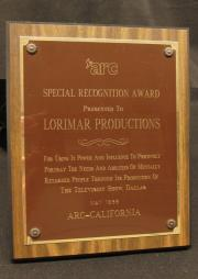 Association for Retarded Citizen of the United States, Special Recognition Award, 1986
