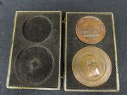Copper Methodist Church Medallions