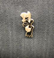 Raven's Claw pin, 1937