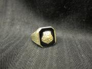 Chi Omega sorority ring, c.1915