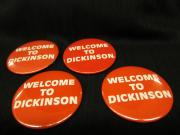 Welcome to Dickinson pin