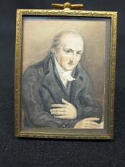 John Mitchell Mason Miniature Portrait