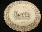 First Presbyterian Church Commemorative Plate, 1951
