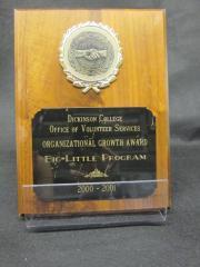 Big-Little Program plaque, 2000-2001