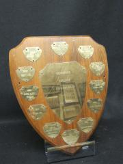 All-College Champions Intramural plaque, 1977-1988