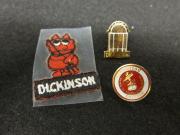 Three Dickinson Pins