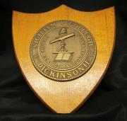 Dickinson College Seal Plaque, c.1930