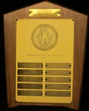 Wall Street Journal Student Achievement Award, c.1960
