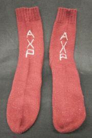 Alpha Chi Rho Wool Socks, c.1950
