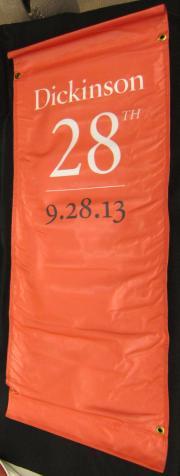 Dickinson College Banner (2), 2013