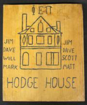 Phi Epsilon Pi Pledge Class Paddle, 1982
