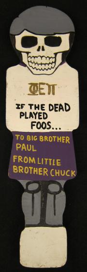 Phi Epsilon Pi Little/Big Brother Paddle, 1990