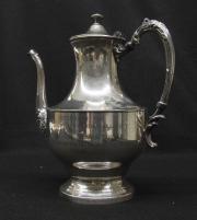 Silver Engraved Teapot, 1951