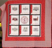 Quilt of Dickinson Buildings, 2010