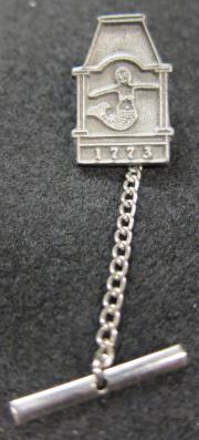 Cupola and Mermaid Tie Pin
