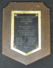 Phi Epsilon Pi Plaque, 1978