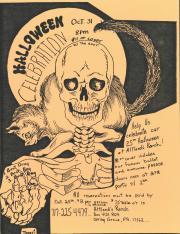 "Altland's Ranch ""25th Halloween Celebration"" Poster - October 31, [1991]"