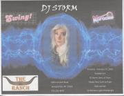 "Altland's Ranch ""Karaoke with DJ Storm"" Poster - February 27, 2016"