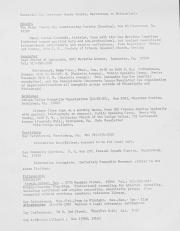 Essential Gay Services Berks County, Harrisburg to Philadelphia - circa 1978
